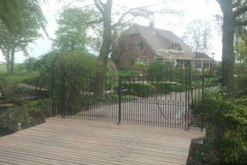 Renovatie sierhekwerk Linschoten