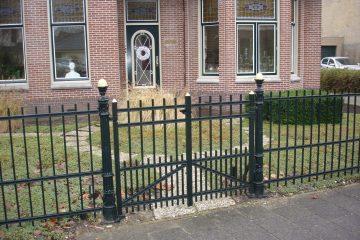 Renovatie hekwerk en looppoort Woerden